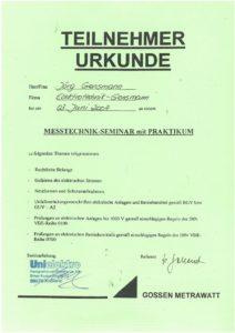 2004.06.03 Gossen Metrawatt Messtechnik Seminar Kopie