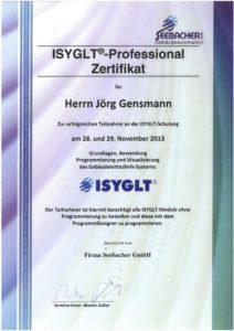 2013.11.29 Gensmann Jörg Seebacher GmbH ISYGLT Professional Kopie