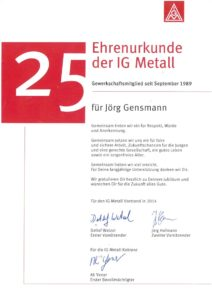 2014.08.01 Gensmann Jörg IG Metall Ehrenurkunde Kopie
