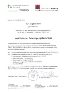 2017.02.08 Gensmann Jörg Würth Zertifizierter Befestigungstechniker Kopie
