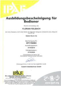 2019.10.21 Feilbach IPAF